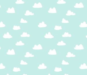 clouds pale sky blue by andrea_lauren