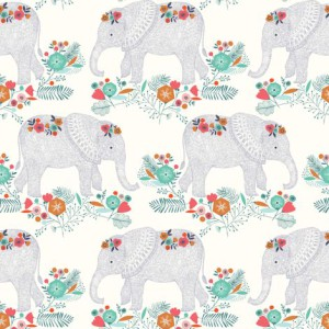 Elephant parade fabric by bethan_janine