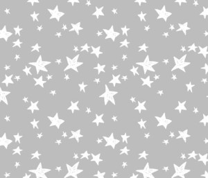 Stars – Slate Grey by Andrea Lauren fabric by andrea_lauren