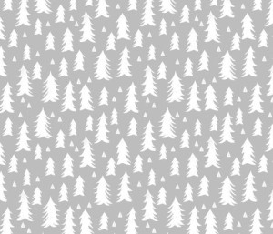 trees :: grey forest fabric by andrea_lauren