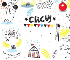 Dress up the Circus fabric by weegallery
